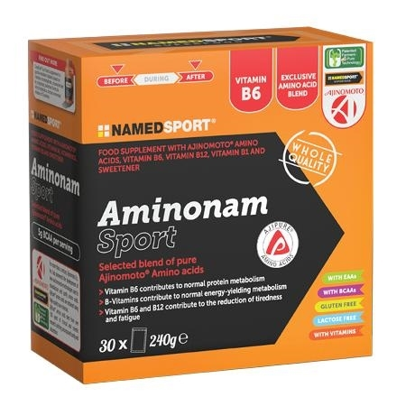 NAMED SPORT AMINO 30 BUSTE