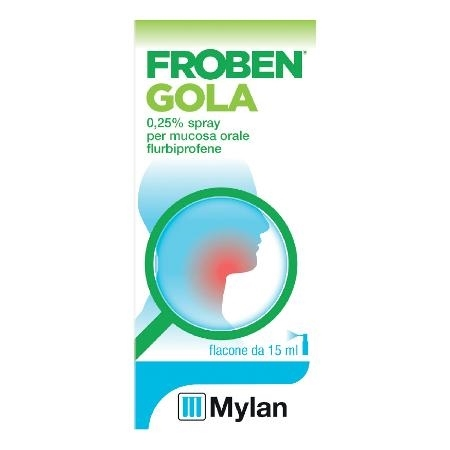 FROBEN GOLA SPRAY 15ML 0,25%