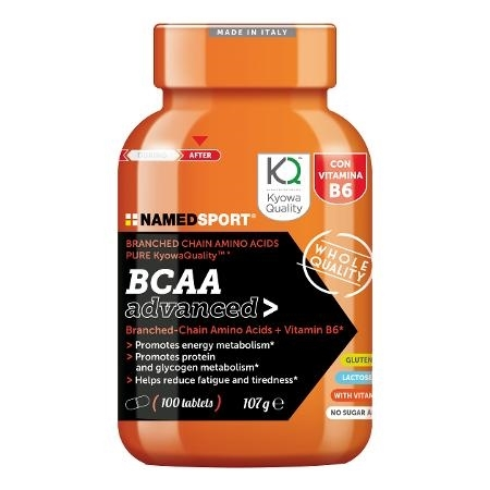 NAMED SPORT BCAA ADVANCED 100CPR