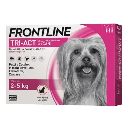 FRONTLINE TRI-ACT*3PIP 2-5KG