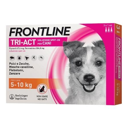 FRONTLINE TRI-ACT*3PIP 5-10KG