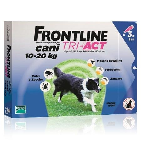 FRONTLINE TRI-ACT*3PIP 10-20KG